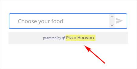 add custom brand to a Chatbot
