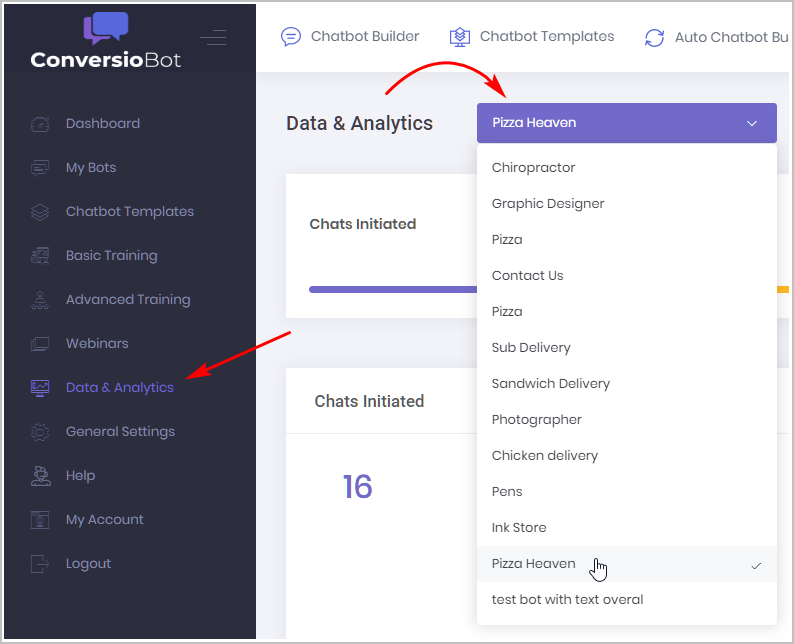 Data and Analytics_Bot selection