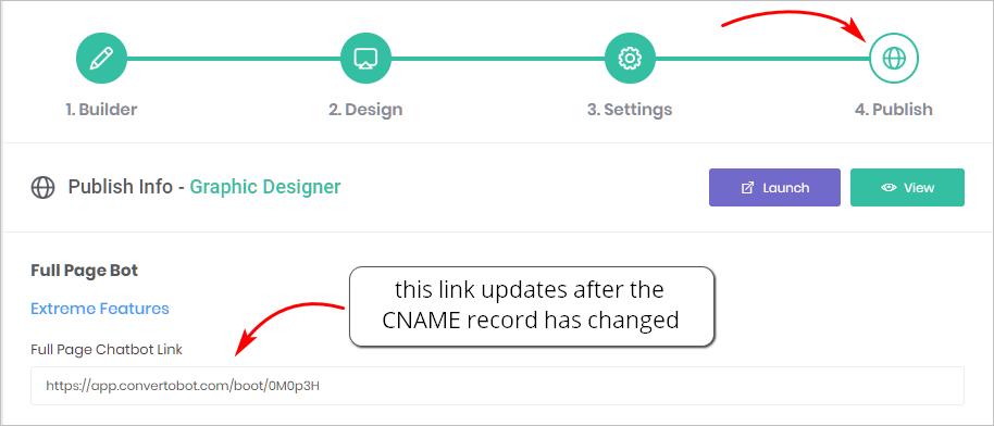 cname record update