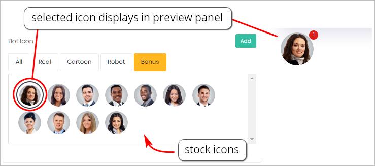 Chatbot Icon_settings