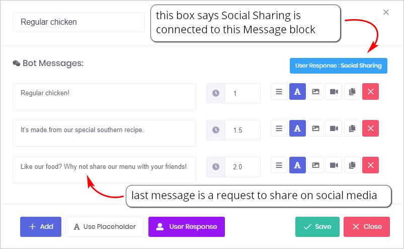User Response_Social sharing