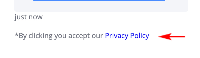 Privacy Policy Settings